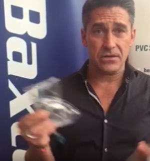Jamie Durie OAM urges hospitals to get involved in PVC recycling